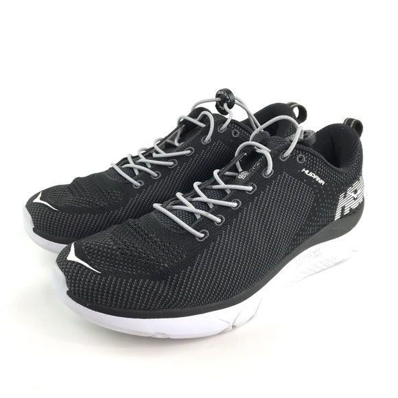 new concept 4baca b8f04 Hoka One One Hupana Running Sneakers Sz 10 Black